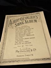 ANTIQUE MUSIC BOOKLET ALBERT CHEVALIERS SONG ALBUM No 1 REYNOLDS COCKNEY